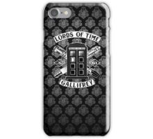 Tardis Lords Of Time iPhone Case/Skin
