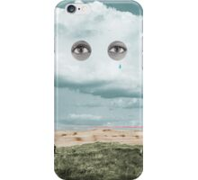 Surveying in the Sahara while it rains iPhone Case/Skin