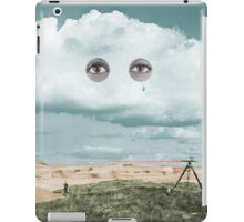 Surveying in the Sahara while it rains iPad Case/Skin
