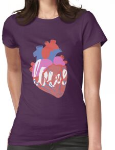 anato-my love Womens Fitted T-Shirt
