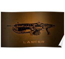 Gears of War - Lancer Poster