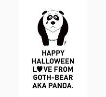 Panda Halloween Greeting Card Unisex T-Shirt