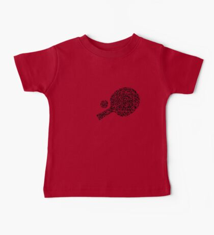 QR Ping Pong Baby Tee