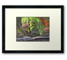 The Willow Framed Print