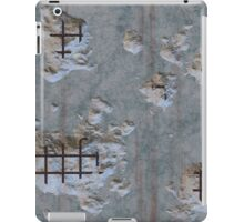Damaged concrete repeating pattern   iPad Case/Skin