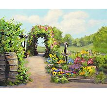 The Children's Garden Photographic Print