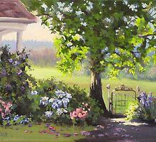 Garden Gate by Karen Ilari