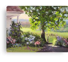 Garden Gate Canvas Print