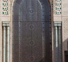 Hassan II mosque, Casablanca Sticker
