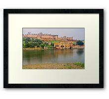 Amer Fort - Jaipur - Rajasthan - India Framed Print
