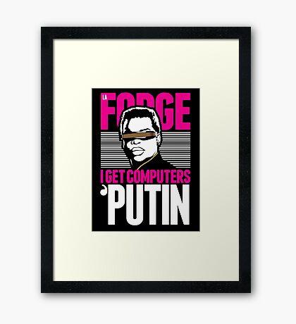 Star Trek - I Get Computers 'Putin Framed Print