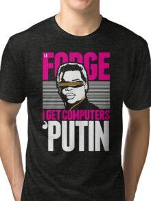 Star Trek - I Get Computers 'Putin Tri-blend T-Shirt