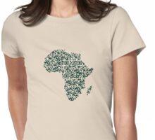 QR Africa Womens Fitted T-Shirt
