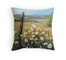Summer Daydream Throw Pillow