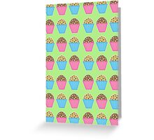 Muffins Greeting Card Greeting Card