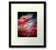 Fire And Ice.. Framed Print