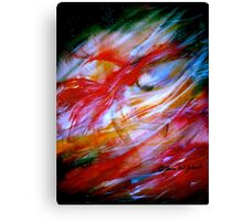 Fire And Ice.. Canvas Print