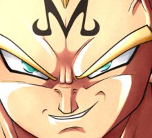 Vegeta Majin Dragon Ball Z Sticker