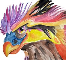 Colourful Bird by Sania Mullaji