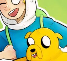 Finn and Jake//Adventure Time Sticker