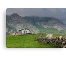 Soba valley, Cantabria Canvas Print