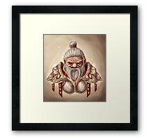 Dwarf with BG Framed Print