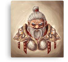 Dwarf with BG Canvas Print