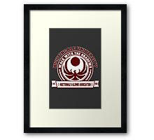 Nightingale University - Skyrim Framed Print