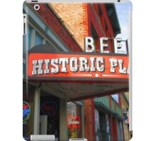 Beer, Historic Place, Ogden, UT iPad Case/Skin