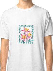 Fleur de Poste Republique Francais Classic T-Shirt