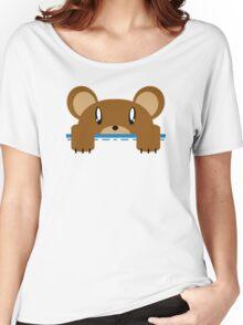 Super Echo Bear Pocket Bear Women's Relaxed Fit T-Shirt