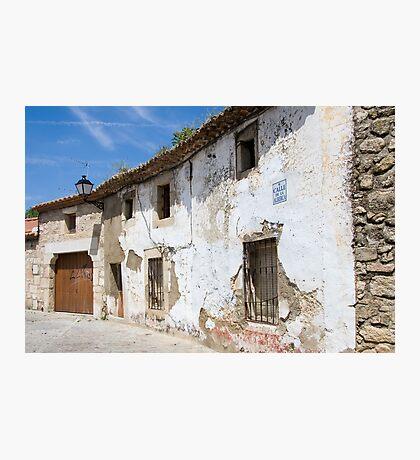 Street of Trujillo Photographic Print