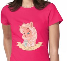 Unicorn colleciont - coffee Womens Fitted T-Shirt