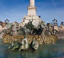 Monument aux girondins, Bordeaux by PhotoBilbo