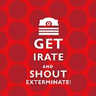 GET EVEN MORE IRATE by ToneCartoons
