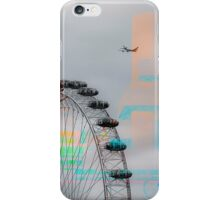 Shades of 9/11 in London iPhone Case/Skin