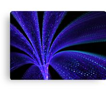 Fractal Shining Tubular Flower  Canvas Print
