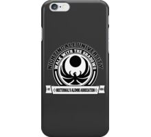 Nightingale University - Black - Skyrim iPhone Case/Skin