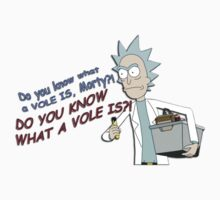 Rick & Morty - Do you know what a VOLE IS? by BenAsaf