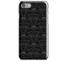 Black Patterned Phone Case iPhone Case/Skin