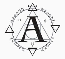 A is for Alchemy (Simple) T-Shirt ONLY Kids Tee