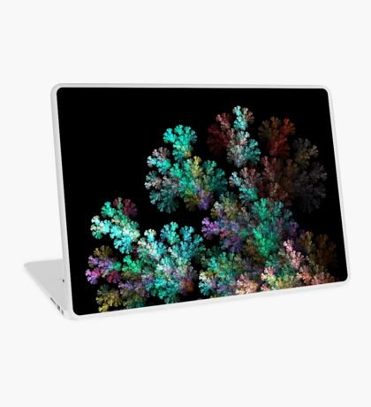 Fractal Alien Branches Isolated on Black   Laptop Skin
