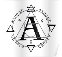A is for Alchemy (Simple)  Poster