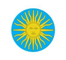 Argentina Mod Bullseye Sticker
