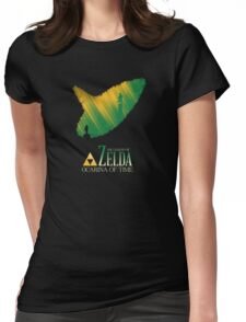 The legend of zelda ocarina of time Womens Fitted T-Shirt