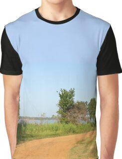 Trail to Lake Texoma Graphic T-Shirt