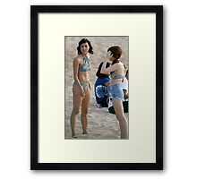Aubrey and Anna Framed Print