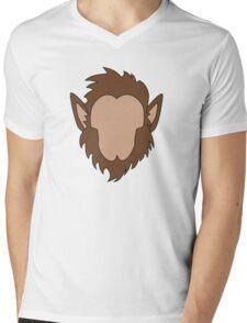 Werewolf Halloween Monster Mens V-Neck T-Shirt
