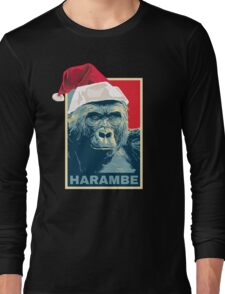 Harambe - Christmas Holidays Long Sleeve T-Shirt