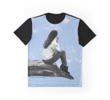 Carried Away With Her Thoughts Graphic T-Shirt